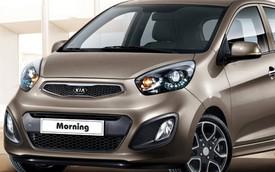 Kia Morning 2014 giảm giá xe trong tháng 6