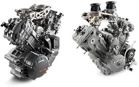 Một loạt xe mới của KTM sử dụng động cơ V-Twin 600-800cc