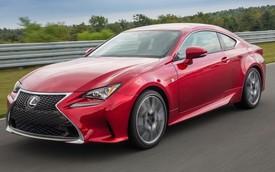 Xe coupe hạng sang Lexus RC có giá từ 43.715 USD