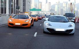 CLB McLaren Hồng Kông ra mắt bằng màn diễu hành hoành tráng