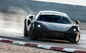 McLaren Sports Series mạnh 550 mã lực, canh trạnh với Porsche 911