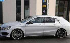 "Mercedes-Benz CLA Shooting Brake sắp ""lên kệ"""