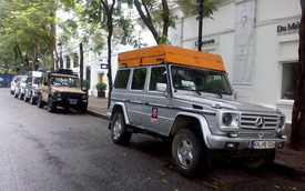 10 chiếc Mercedes G-Class xuyên thế giới đến Hà Nội