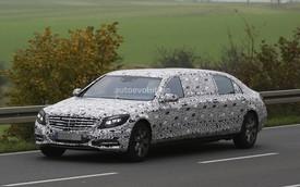 Mercedes-Benz S-Class Pullman có thể đắt hơn Rolls-Royce Phantom