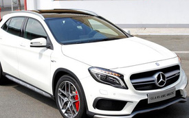 Ảnh chi tiết Mercedes GLA vừa bán ở Việt Nam