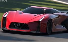 Nissan GT-R R36 mang thiết kế như xe đua Vision 2020 Concept