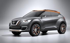 Crossover cỡ nhỏ Nissan Kicks lộ diện