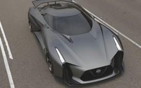 Siêu xe Nissan Vision Gran Turismo lộ diện
