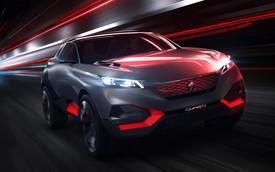 Peugeot giới thiệu Quartz concept tuyệt đẹp