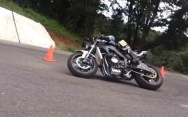 Yamaha R6 úp cua số 8 theo phong cách MotoGP cực đỉnh