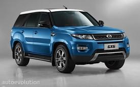 Xe Trung Quốc nhái Range Rover Sport rẻ bằng 1/10 xe xịn