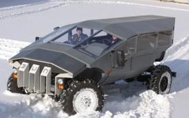Lạ mắt xe chở quân tương lai của quân đội Nga
