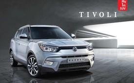 SsangYong Tivoli - Đối thủ của Honda HR-V chính thức lộ diện