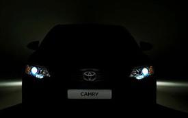 Toyota Camry bản cải tiến chuẩn bị trình làng