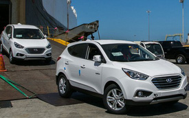Hyundai Tucson Fuel Cell: 700 km chỉ với một bình nhiên liệu