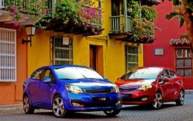 Rio và K3 vẫn là xe Kia bán chạy nhất