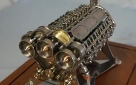 Chi tiết quá trình tạo ra khối động cơ W18 để bàn