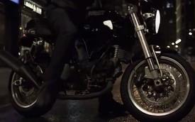 Ducati bất ngờ xuất hiện trong quảng cáo môtô điện của Tesla
