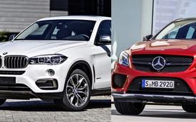 Những điểm giống, khác nhau giữa BMW X6 và Mercedes-Benz GLE Coupe