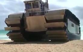 Xe lội nước đổ bộ UHAC của Mỹ có thể chứa đến 3 xe tăng