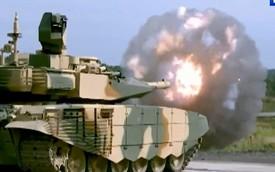 """Ấn tượng màn thao diễn của """"siêu tăng"""" T-90"""