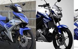 Yamaha Exciter 150 có thể dùng chung động cơ với FZ150i và R15