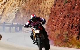 Yamaha MT-09 biểu diễn drift đỉnh cao