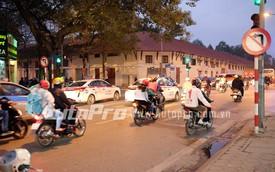 Tư vấn giao thông: Mới có biển cấm rẽ trái tại ngã tư Nguyễn Thái Học - Lê Trực