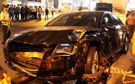 Hé lộ nguyên nhân xe đón Hà Hồ gây tai nạn