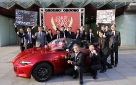 """Mazda MX-5 thế hệ mới được vinh danh """"Xe của năm 2015-2016"""""""