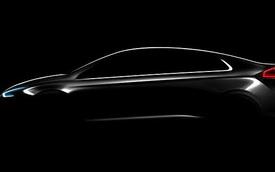 """Hé lộ hình ảnh đầu tiên của xe """"3 trong 1"""" Hyundai Ioniq"""