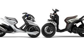 Yamaha giới thiệu cặp đôi xe ga ba bánh thể thao và cổ điển