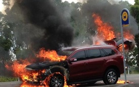 """Ford: """"Everest thế hệ mới cháy chỉ là trường hợp hy hữu"""""""