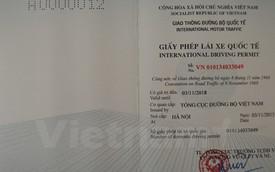 Chính thức cấp giấy phép lái xe quốc tế, người dân hào hứng