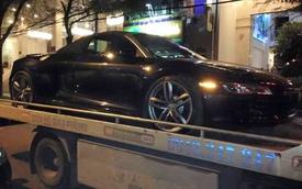 Audi R8 Spyder 2014 âm thầm về Sài Thành trong đêm