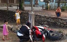 """Đoàn PKL """"phượt"""" xuyên Việt gây tai nạn, một người tử vong"""