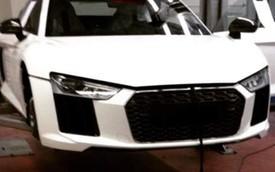Ảnh sống của siêu xe Audi R8 được hé lộ