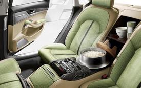 Audi A8L đặc biệt cho Việt Nam: Có thể... nấu cơm ở hàng ghế sau