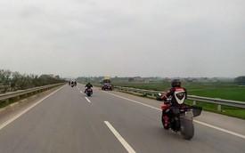 Nóng trong ngày: Đoàn xe PKL cố tình đi vào cao tốc Nội Bài - Lào Cai