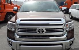 Bộ đôi bán tải hàng hiếm Ford F-150 Platinum 2015 và Toyota Tundra 1794 Edition tại Việt Nam