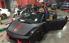 """""""Siêu bò"""" hàng độc Việt Nam Lamborghini Gallardo SE khoác áo mới"""