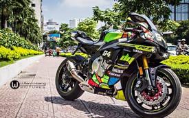 """Yamaha R1 2015 """"độ"""" dàn áo cực chất tại Sài Thành"""