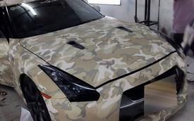 Nissan GT-R phong cách lính đặc nhiệm SEAL tại Việt Nam