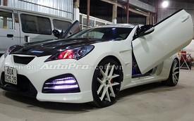 Hyundai Genesis Coupe độ cửa cắt kéo như Lamborghini tại Sài Gòn