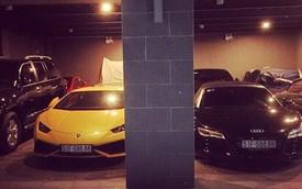 """Choáng với cặp đôi Lamborghini Huracan và Audi R8 biển """"tứ quý 8"""""""