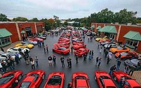Hàng trăm siêu xe đình đám tụ họp