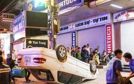 Toyota Corolla Altis phơi bụng trong đêm tại Thái Nguyên