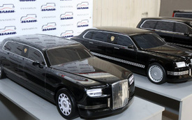 Tiết lộ kế hoạch đóng siêu xe mới bảo vệ Tổng thống Nga