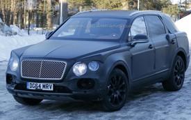 Bắt gặp SUV siêu sang Bentley Bentayga đang chạy thử
