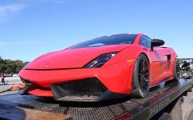 "Siêu xe Lamborghini Gallardo 2.000 mã lực ""đi bơi"""